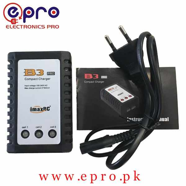 iMax B3 Compact Lipo Battery Charger 2s/3s Compatible in Pakistan