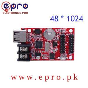 USB Port Single Double Color LED Display Controller Card 48 * 1024 Pixels HD U6A in Pakistan