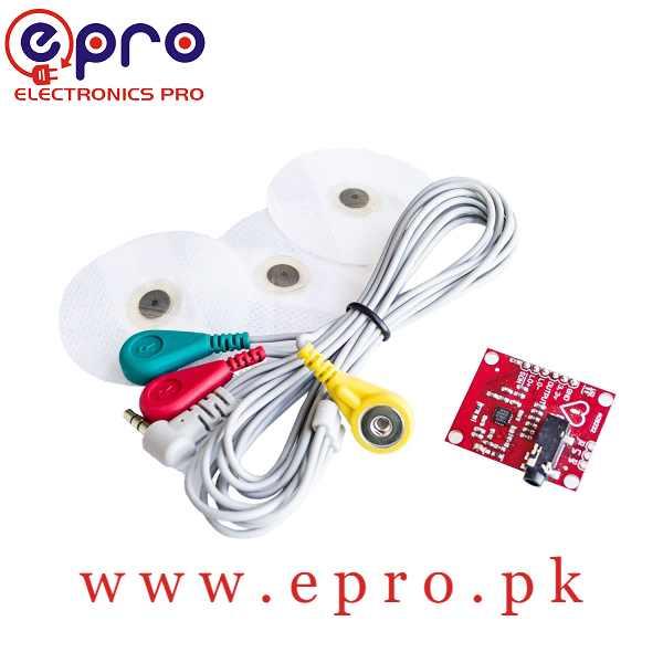 AD8232 ECG Measurement Pulse Monitoring Sensor Monitor Module in Pakistan