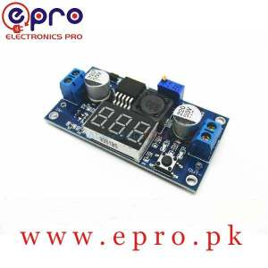 DC to DC Step Down Buck Converter with 7 Segment Display LM2596 in Pakistan