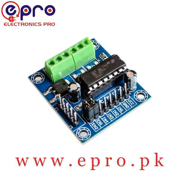 Mini 4-Channel Motor Driver Shield Expansion Board L293D Module in Pakistan