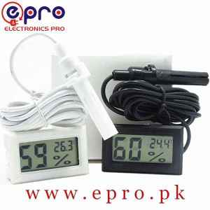 Mini LCD Digital Thermometer Hygrometer Incubator Meter in Pakistan