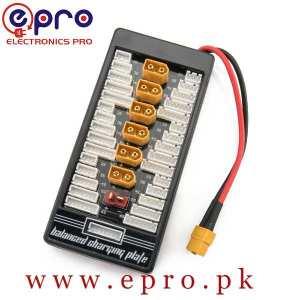 New Style Li-Po Charging Adaptor Board 2-6S Charge Or Balance Board Lipo Battery for imax B6 B6AC in Pakistan