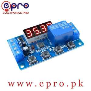 12V Multifunction 1 Channel Relay Timer in Pakistan