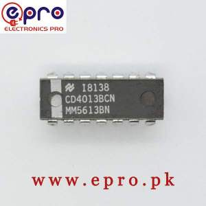 4013 IC CD4013BE Type Flip Flop 3 to 18v 14 Pin DIP in Pakistan
