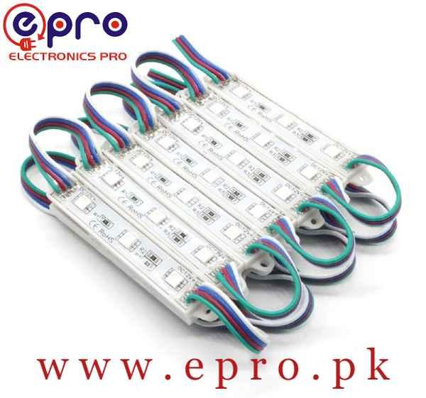 12V 3 SMD 5050 Waterproof LED Strip Light Module in Pakistan