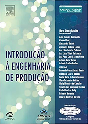 51kJ8hE7L3L. SX351 BO1204203200  - Livro: Introdução À Engenharia de Produção