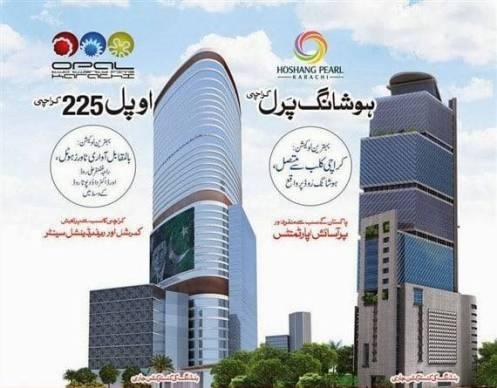 Bahria Town Karachi Hoshang Pearl and Opal