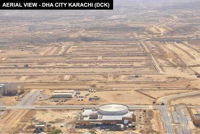 DHA City Karachi Aerial View