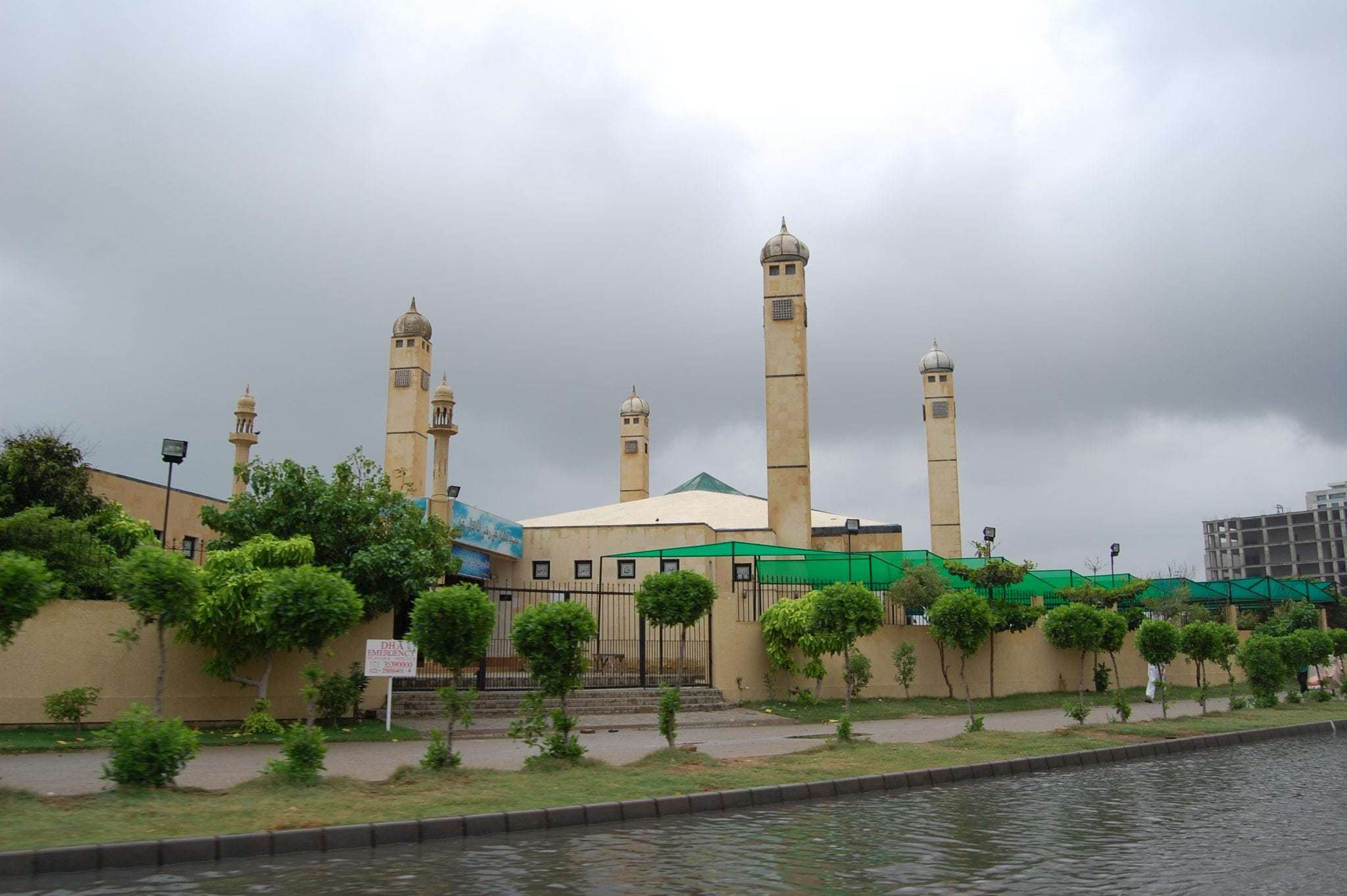Mosque in DHA Karachi