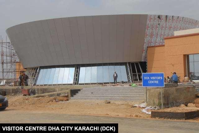 Visitor Center DHA City Karachi