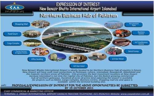 Benazir Bhutto International Airport Islamabad