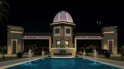 DHA Bahawalpur Main Gate Front View