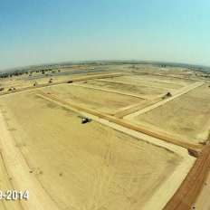Plots Site Progress Bahria Town Karachi