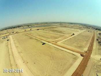 Plots Site Progress Bahria Town Karachi
