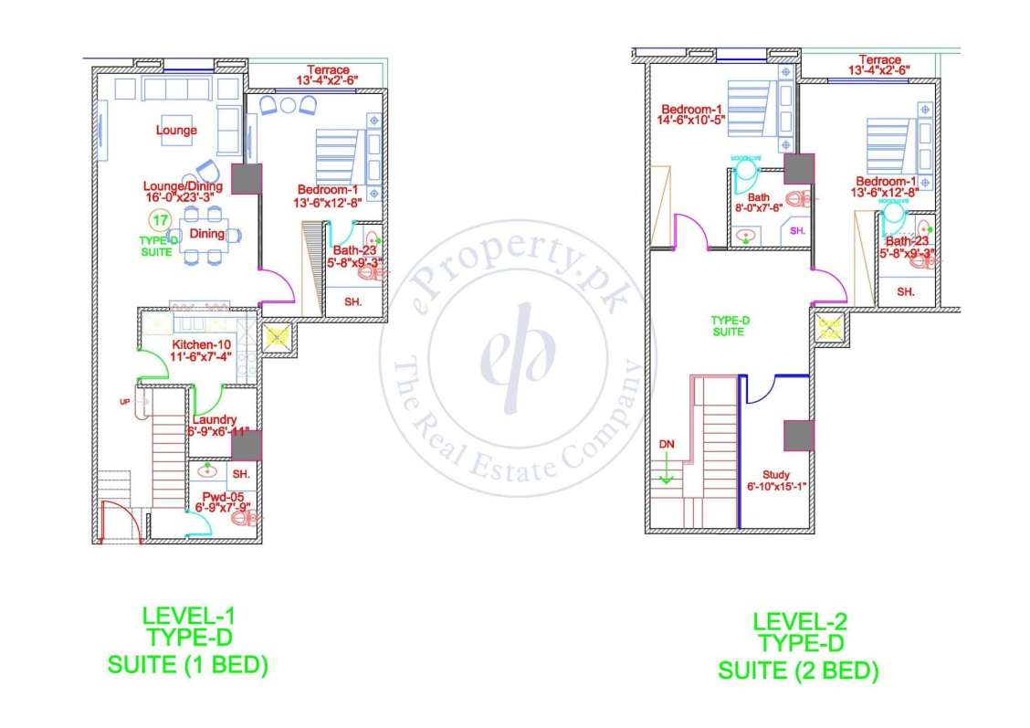 DHA Gold Crest Apartment Type D