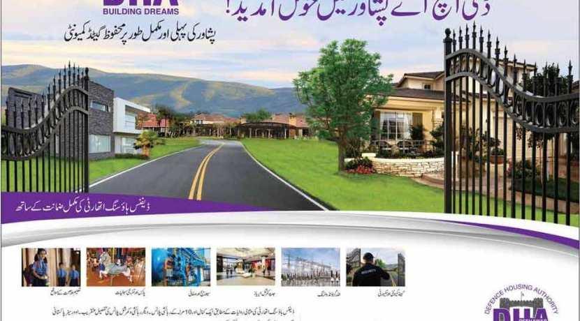 DHA Peshawar booking open