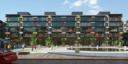 Defence Raya Golf Resort Phase III Commercial Plaza Front View