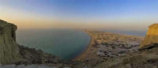 Gwadar from Sangar Housing Project