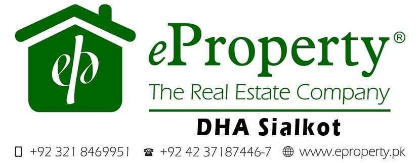 DHA Sialkot Plots & Houses for Sale