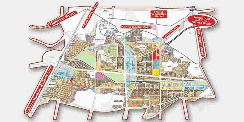 LDA City Lahore