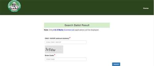 DHA Multan Ballot Results are online now