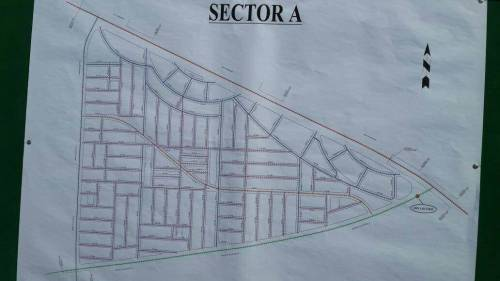 DHA Multan Sector A Map Layout