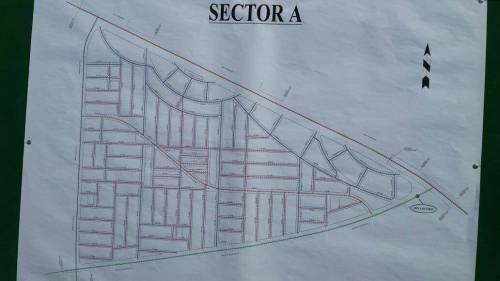 DHA Multan Sector A Map Layout