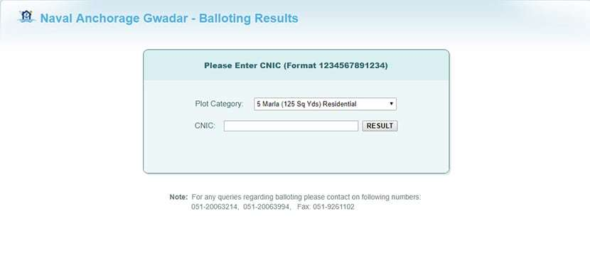 Naval Anchorage Balloting Results Online