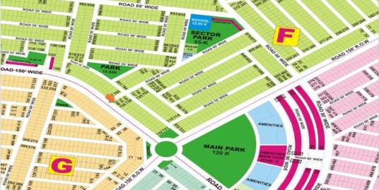 DHA Lahore Plot for Sale Phase 9 Prism Sector F 1 Kanal # 756
