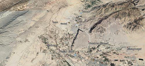 DHA Quetta Map