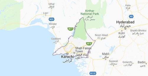Karachi Maps