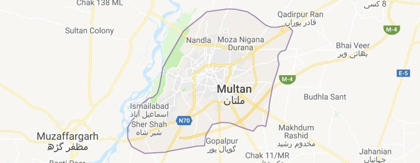 Multan Maps