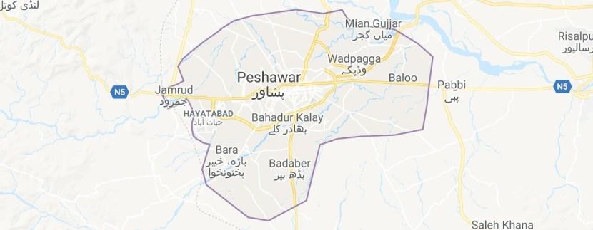 Peshawar Maps