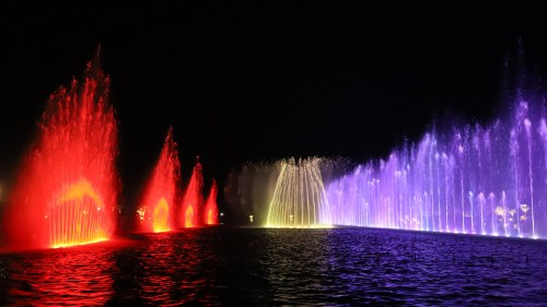 DHA Bahawalpur Dancing Fountains