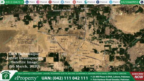 DHA Bahawalpur Development 26 March, 2020