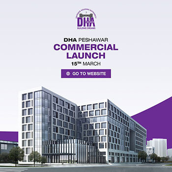 DHA Peshawar Commercial Plot Booking