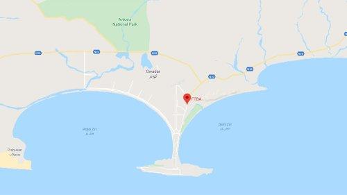 FTBA Airport Road Gwadar Location