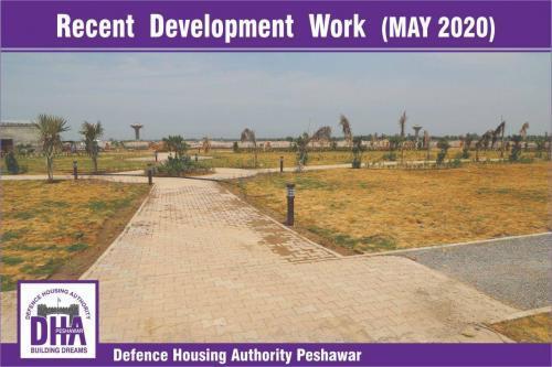 DHA Peshawar Development Work May 2020-4