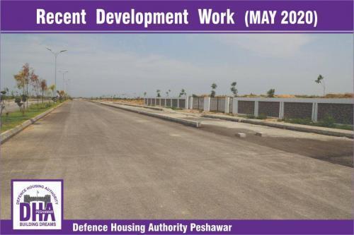 DHA Peshawar Development Work May 2020