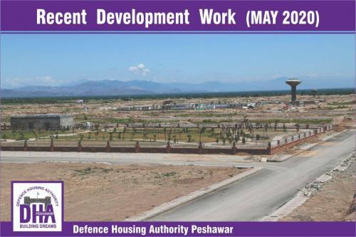 DHA Peshawar Development Work May 2020-6