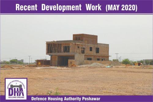 DHA Peshawar Development Work May 2020-7