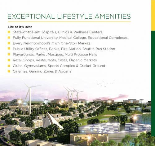 Mivida Pakistan Exceptional Lifestyle Amenities
