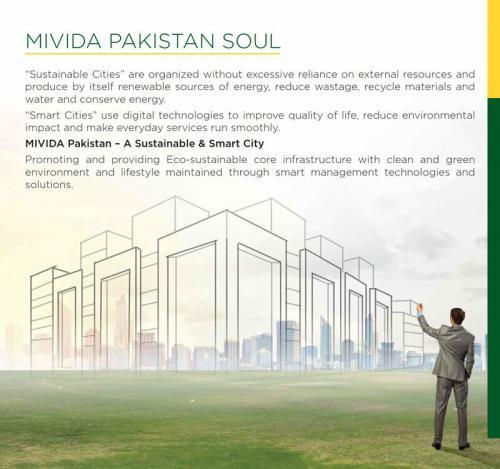 Mivida Pakistan Lifestyle Amenities