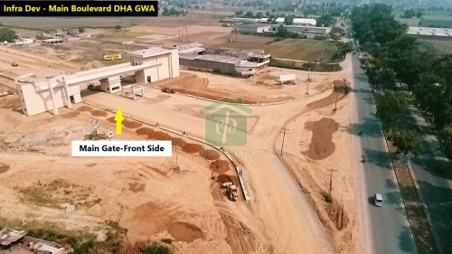 DHA Gujranwala Main Gate Front Side June 2020