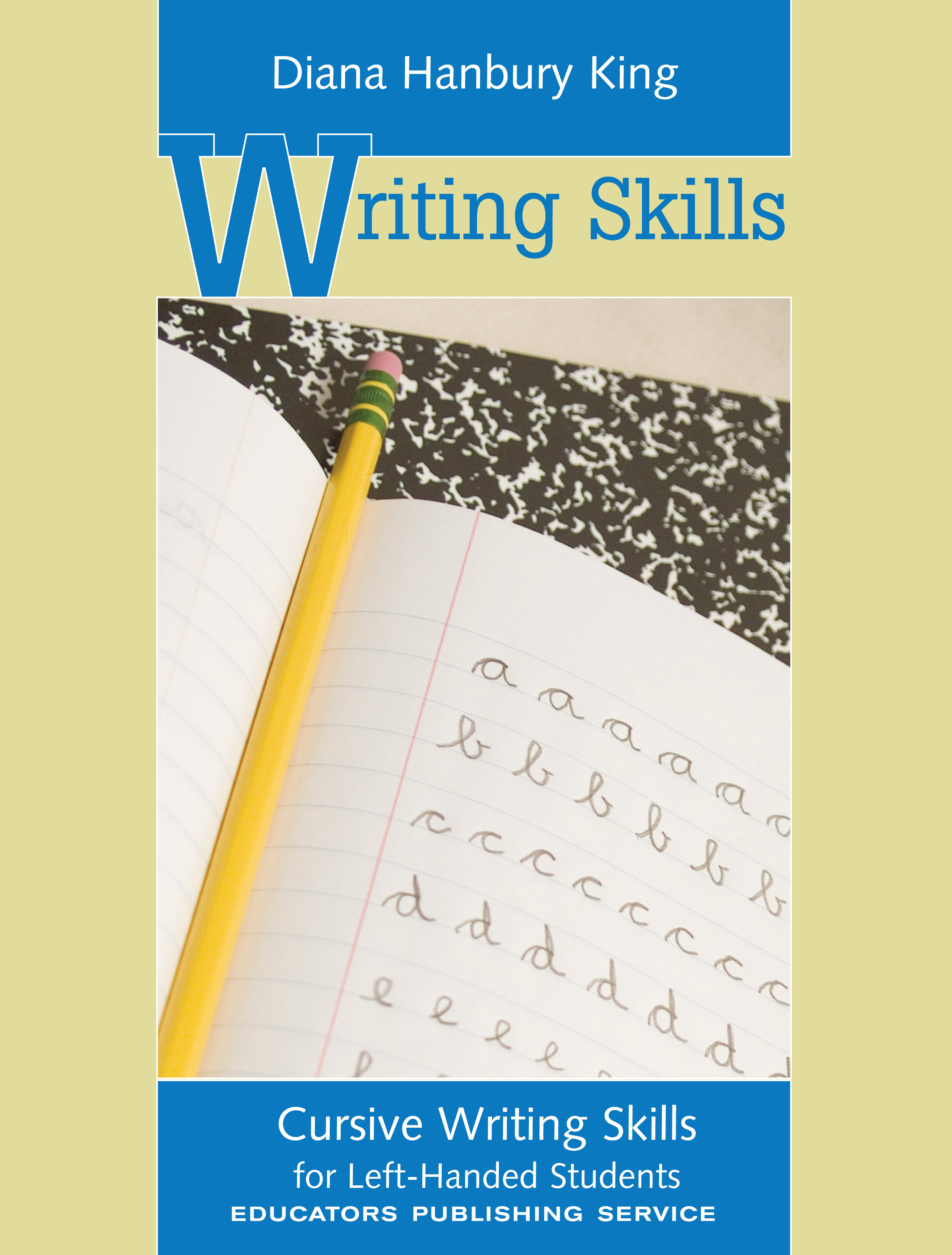 Cursive Writing Skills For Left Handed Students