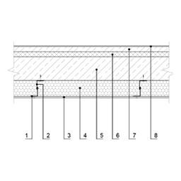 Eksplotuojamo pastato perdangos, esančios virš nešildomų ertmių, šiltinimas (1variantas), epsa.lt, PPA