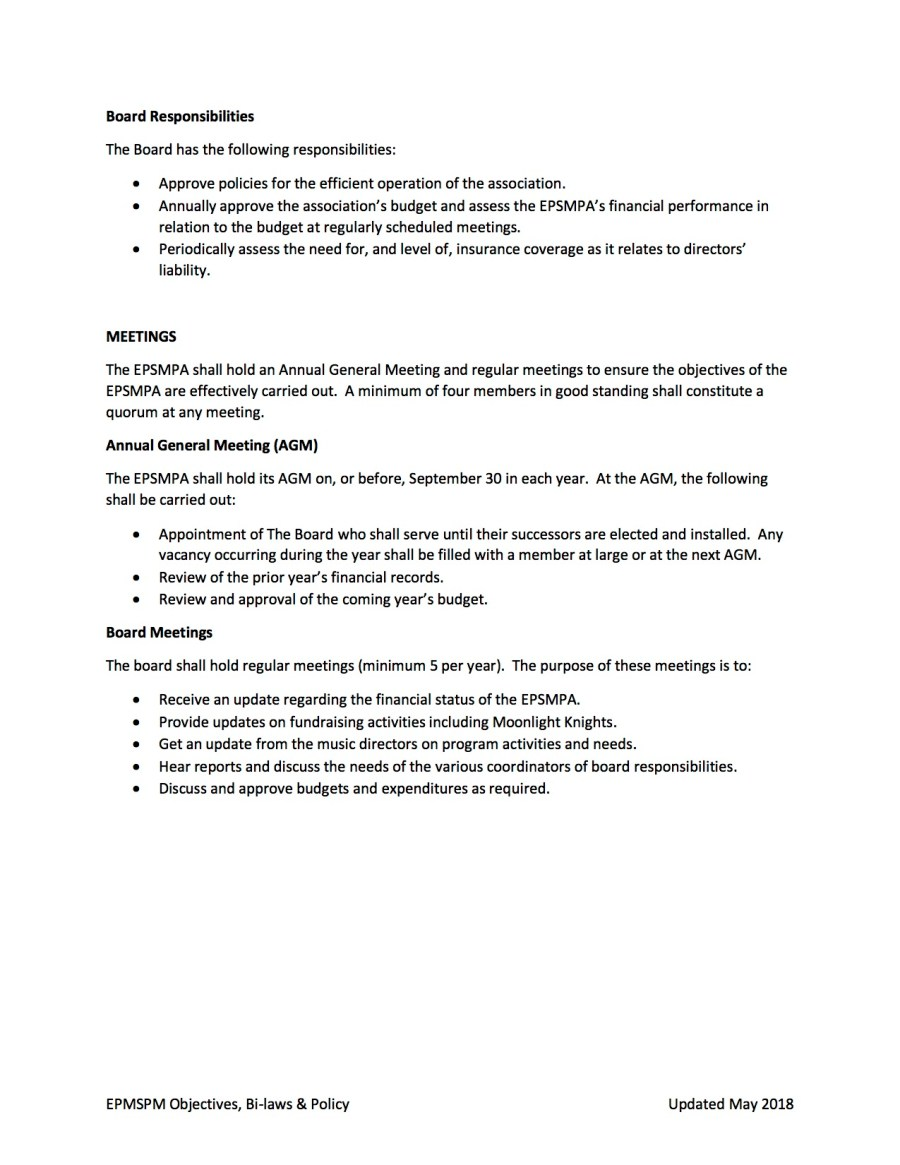 EPSMPA Policy Document - May 2018 page 3