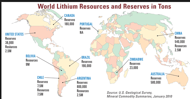 Image result for Chilean Lithium