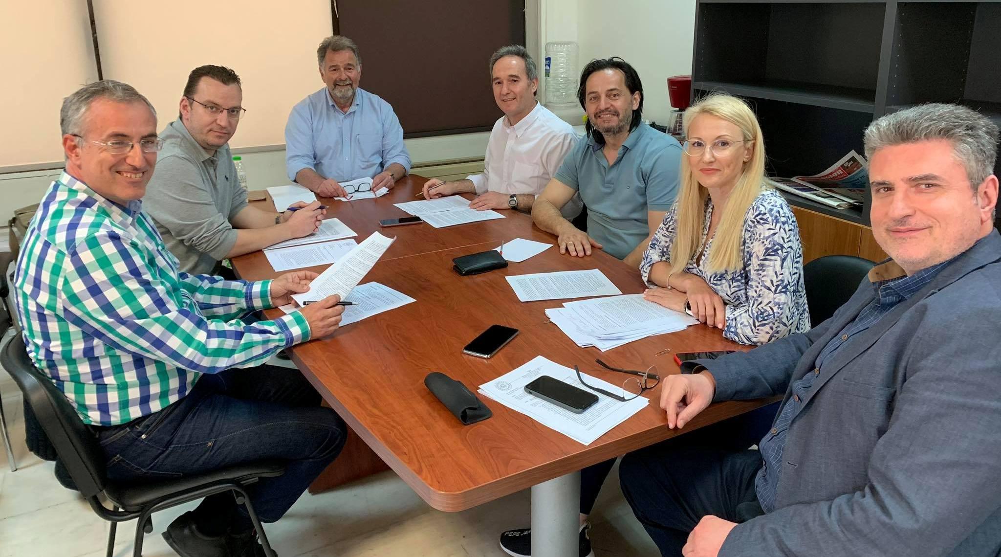 Αναθεώρηση χρήσεων γης - Δια ζώσης οι προτάσεις του ΤΕΕ Πιερίας στον αντιδήμαρχο Δόμησης Κατερίνης